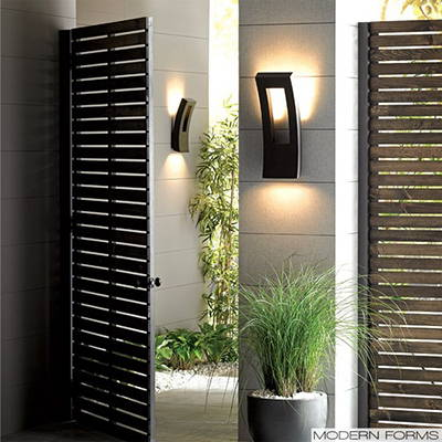 Modern Forms outdoor wall lights
