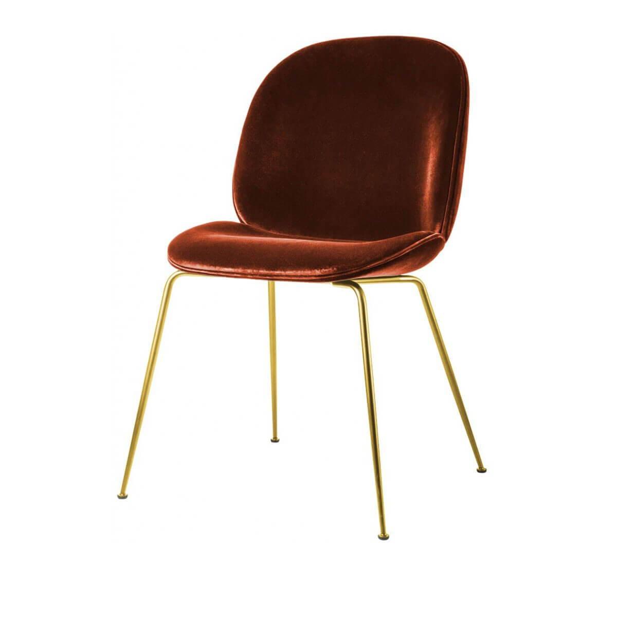 GUBI Velvet Chair