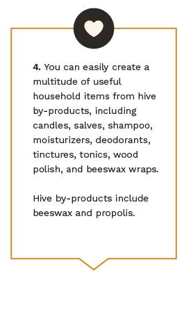 Reasons why beekeeping benefits your health.
