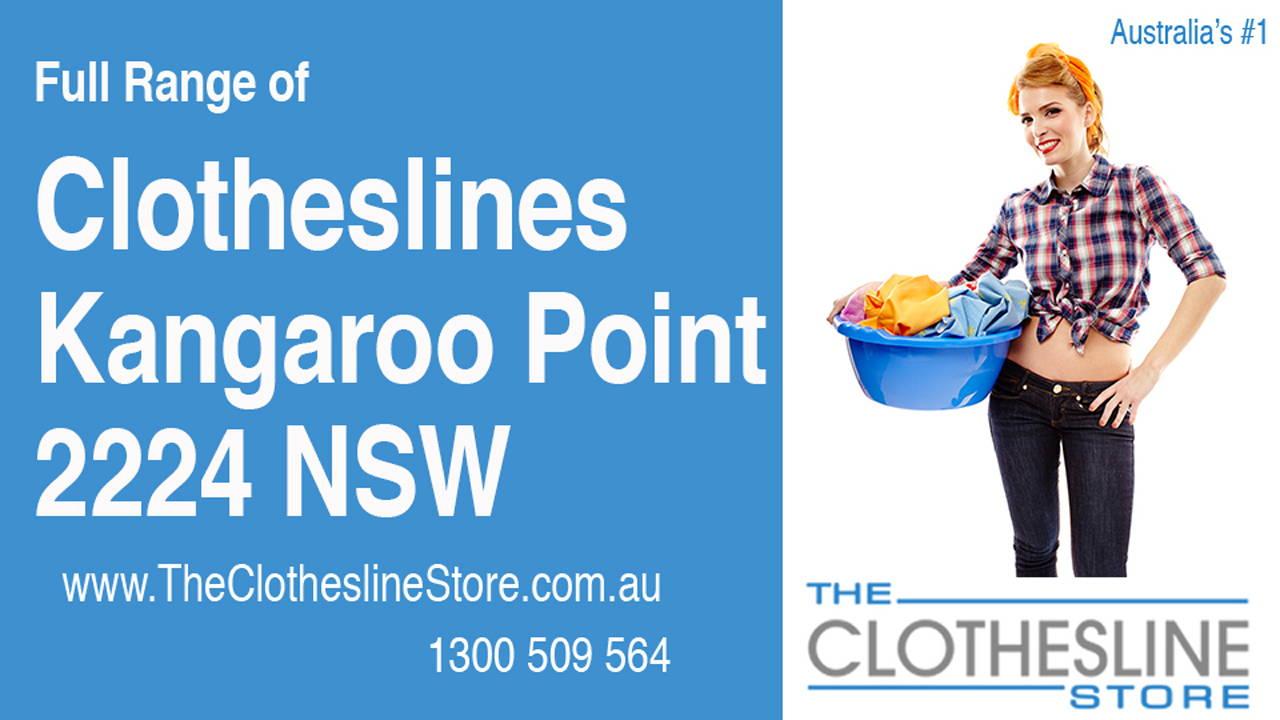 Clotheslines Kangaroo Point 2224 NSW