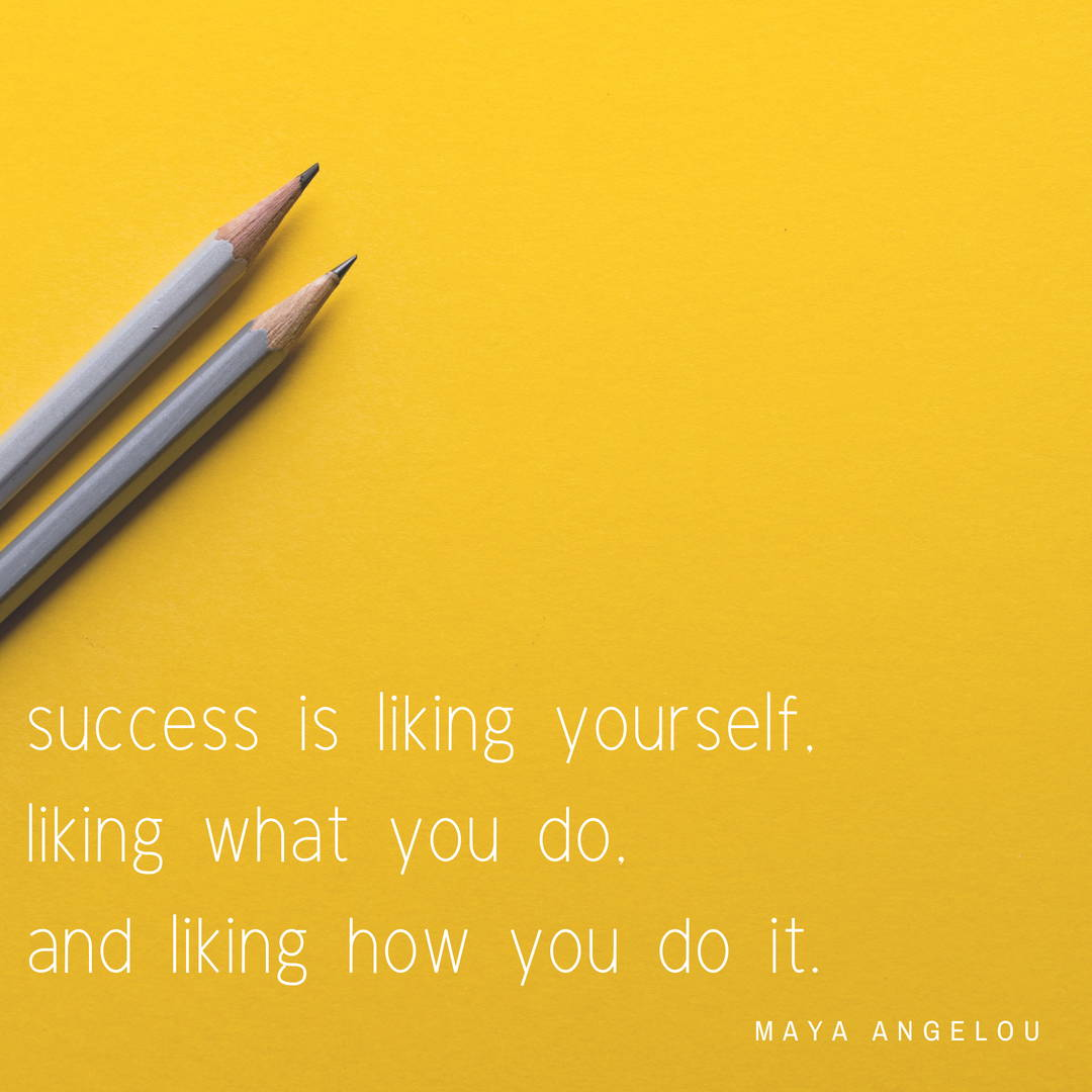 Maya Angelou quote about success