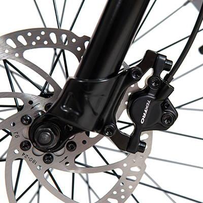 hydraulic brake e-bike