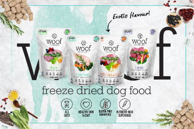 WOOF dog food 1