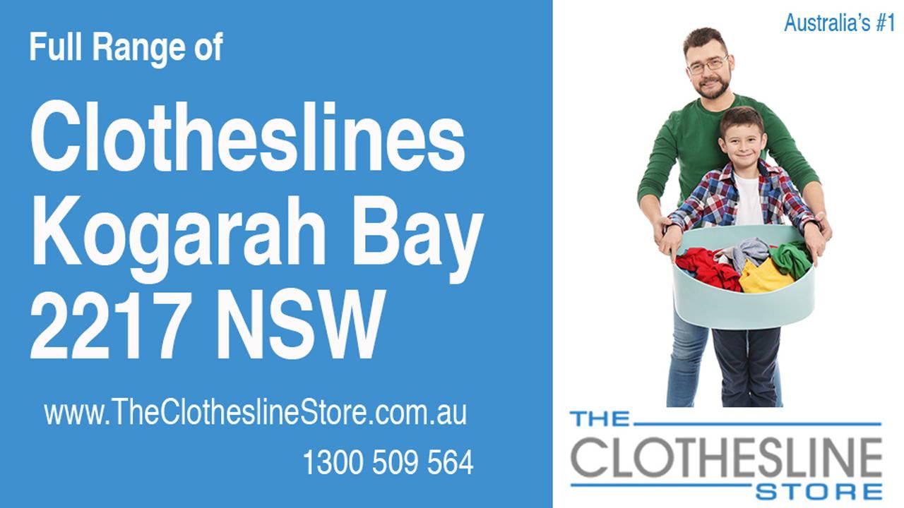 Clotheslines Kogarah Bay 2217 NSW