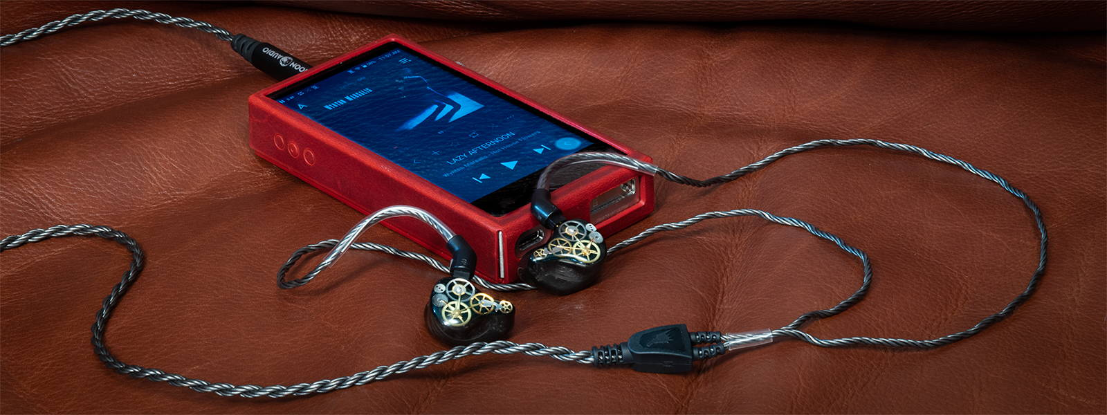 QSC 8SH IEM with Silver Dragon IEM Cable and Astell&Kern SA700 DAP