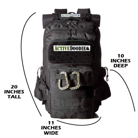 Active Doodie Dad Diaper Bags with Tactical Style Baby Gear