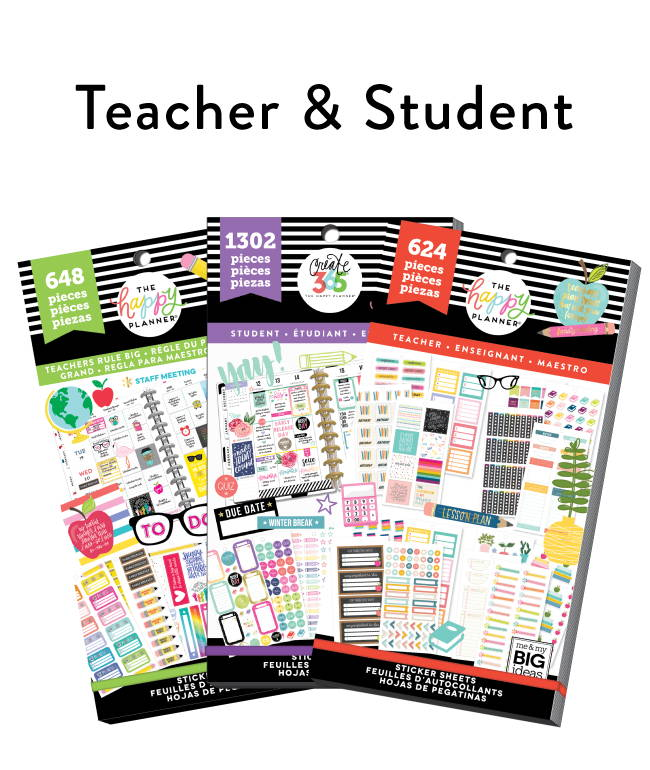 Teacher & Student Stickers