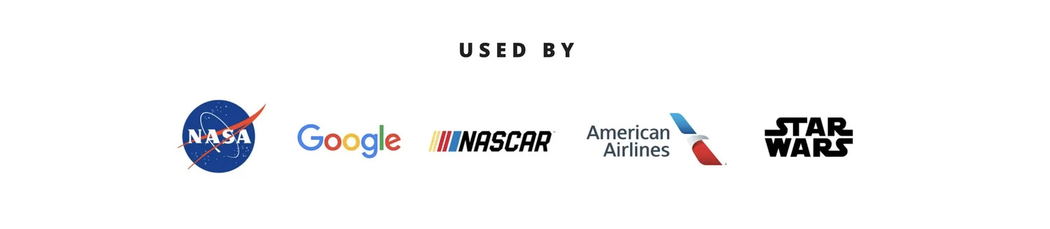 grypmat is used by nasa, nascar, google, american airlines, and starwars