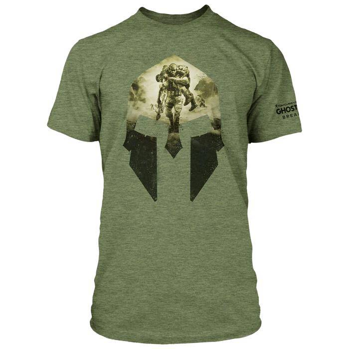 Design for the GHOST RECON BREAKPOINT SPARTAN PREMIUM TEE
