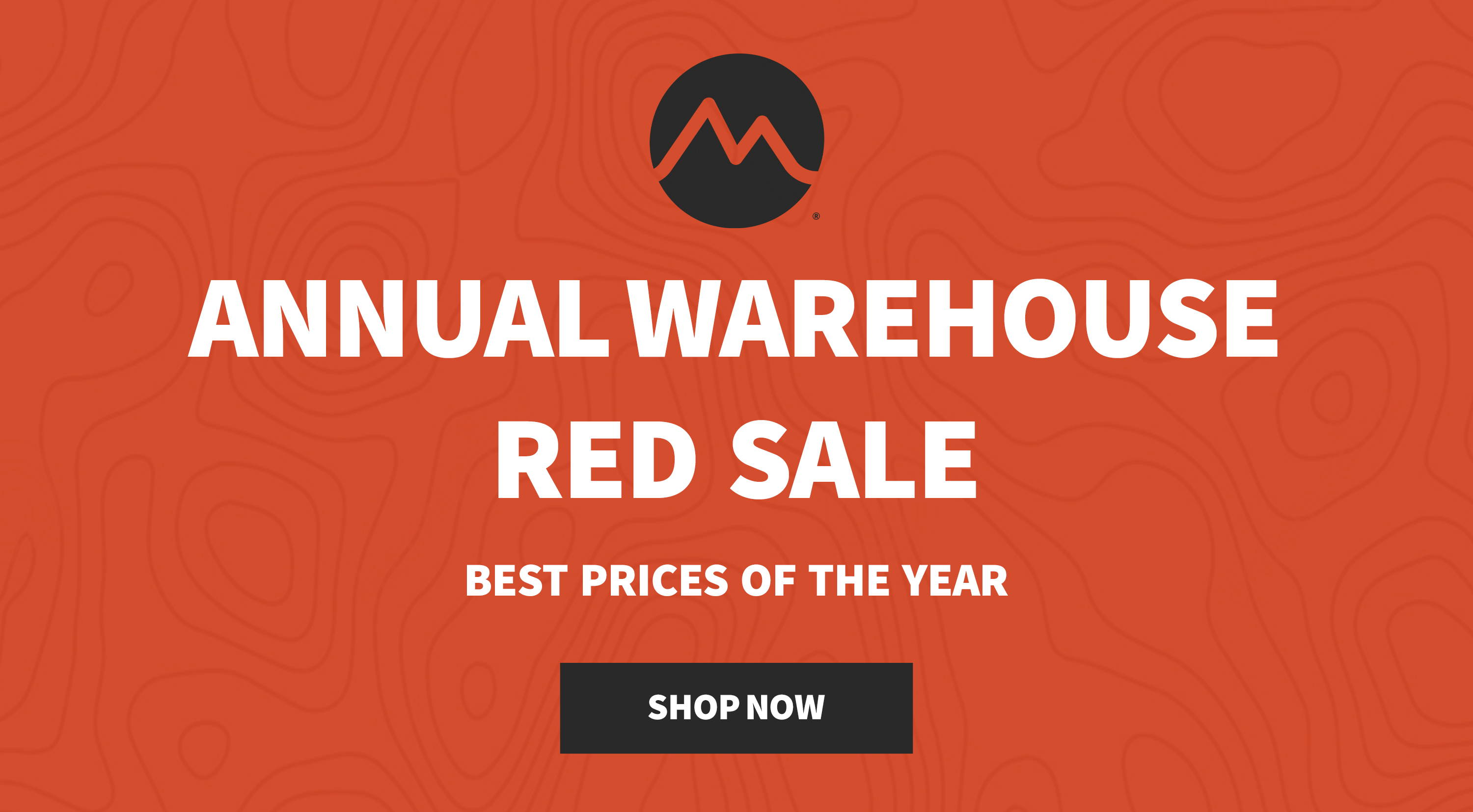 Annual Warehouse Red Sale