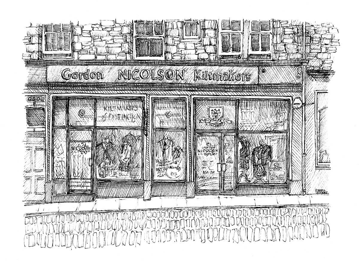 Edinburgh Sketcher GNK St Mary's St