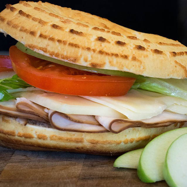 Turkey Apple Bagelinos Sandwich