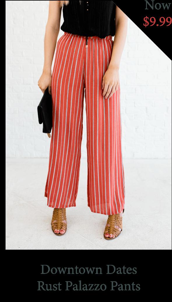 palazzo pants, work pants, striped pants