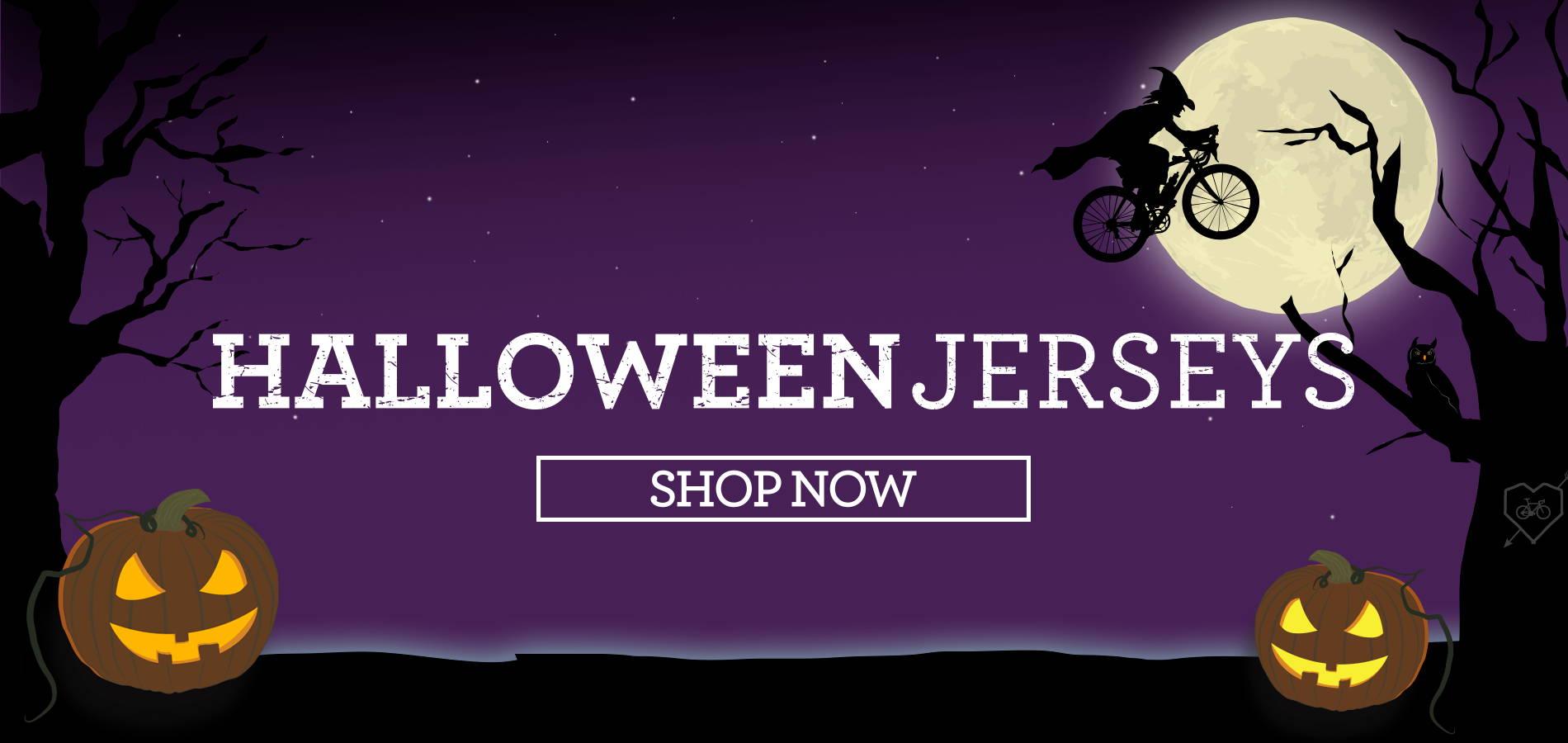 Halloween Cycling Jerseys