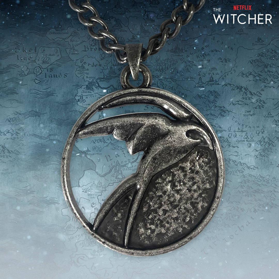 Netflix: The Witcher Ciri Medallion Necklace