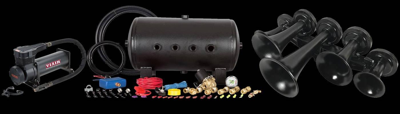 HornBlasters Nathan Airchime K5LA Train Horn Kit