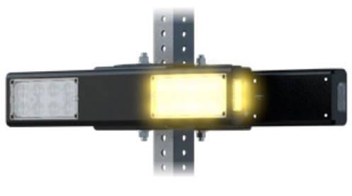 Double-sided RRFB light bar
