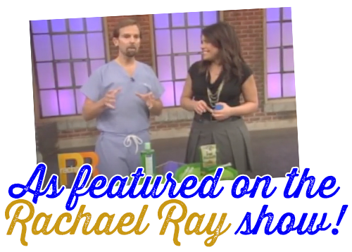 Featured on the Rachael Ray Show