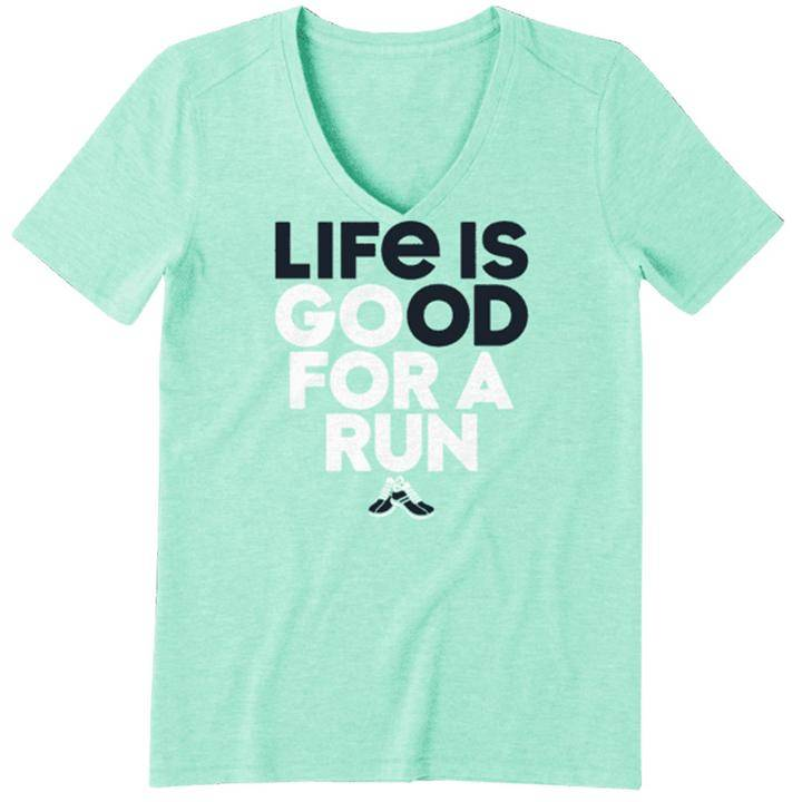 Life is Good Go for a Run Women's Tee