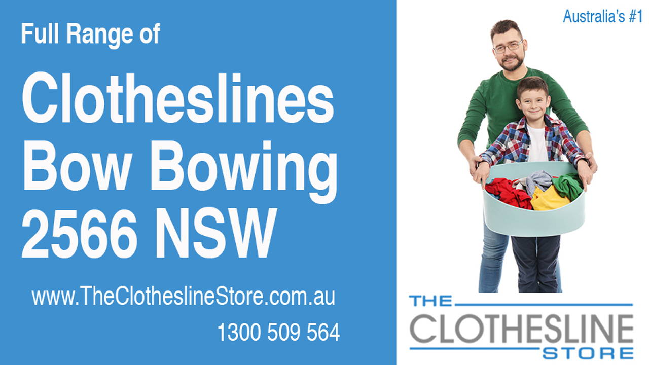 New Clotheslines in Bow Bowing 2566 NSW