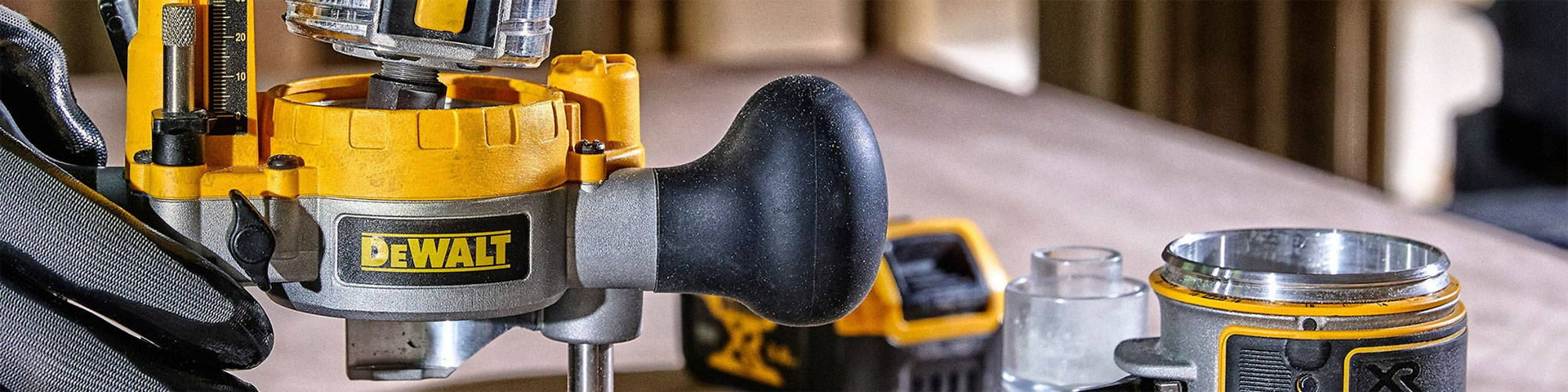 What to look for in a dewalt router