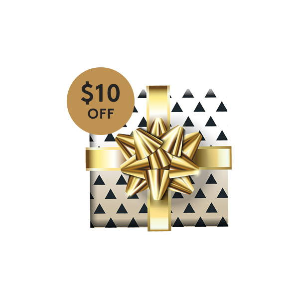 Click around the site to find $10 Holiday Coupon!