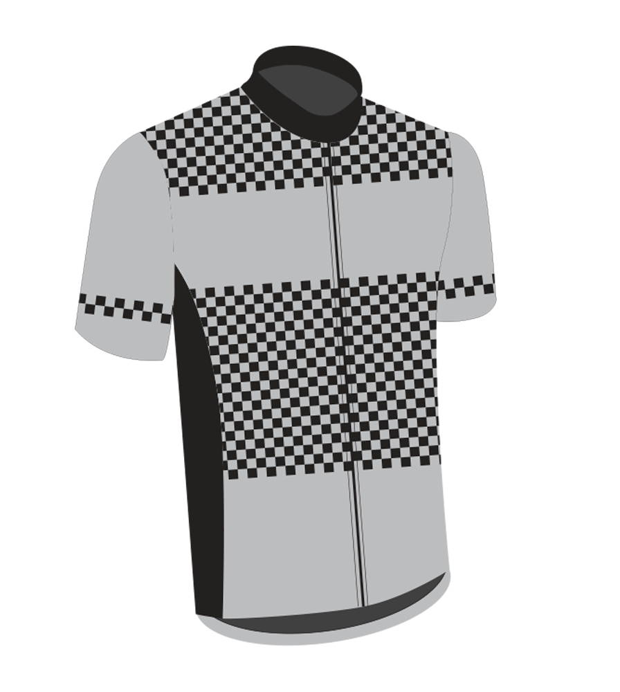 Checks Cycling Jersey
