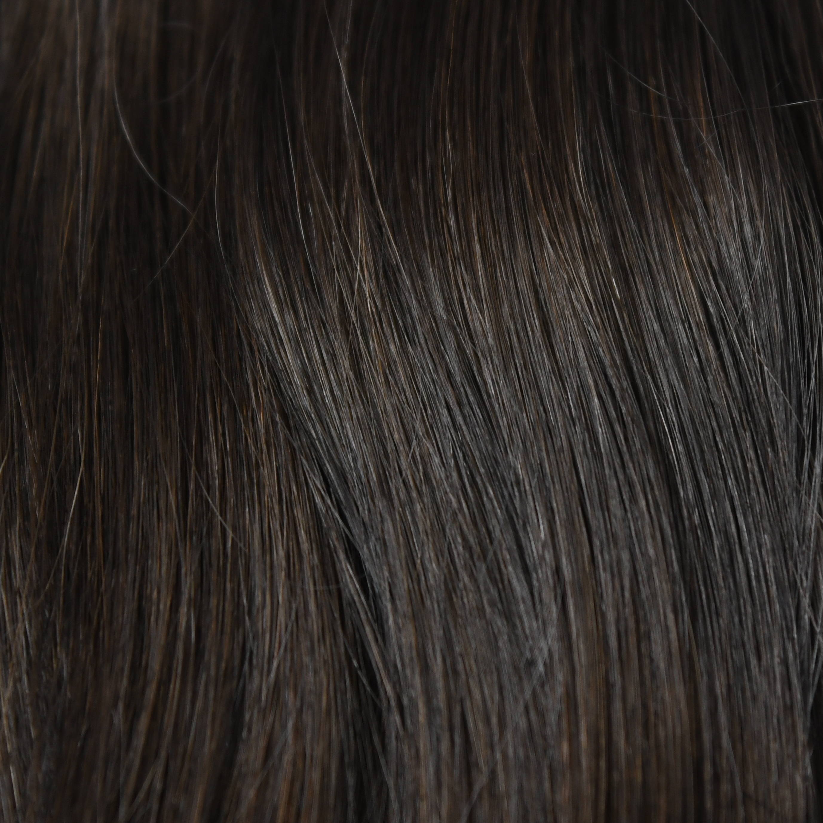 Dark black color hair help to choose hair extensions color in hair color chart