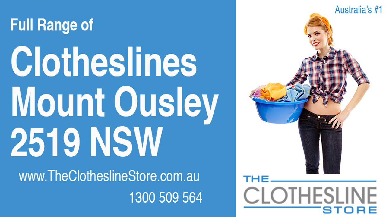 New Clotheslines in Mount Ousley 2519 NSW