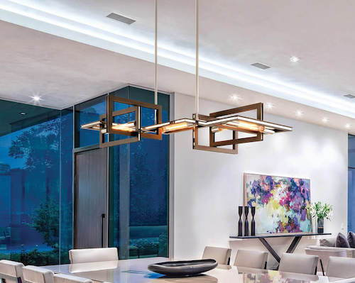 Troy Lighting Enigma Linear Pendant