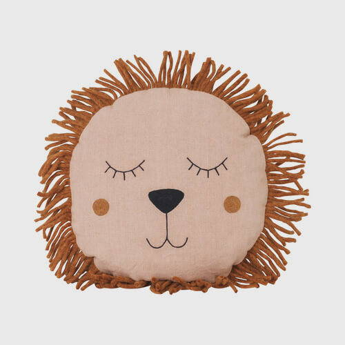 Ferm Living Lion Safari Pillow