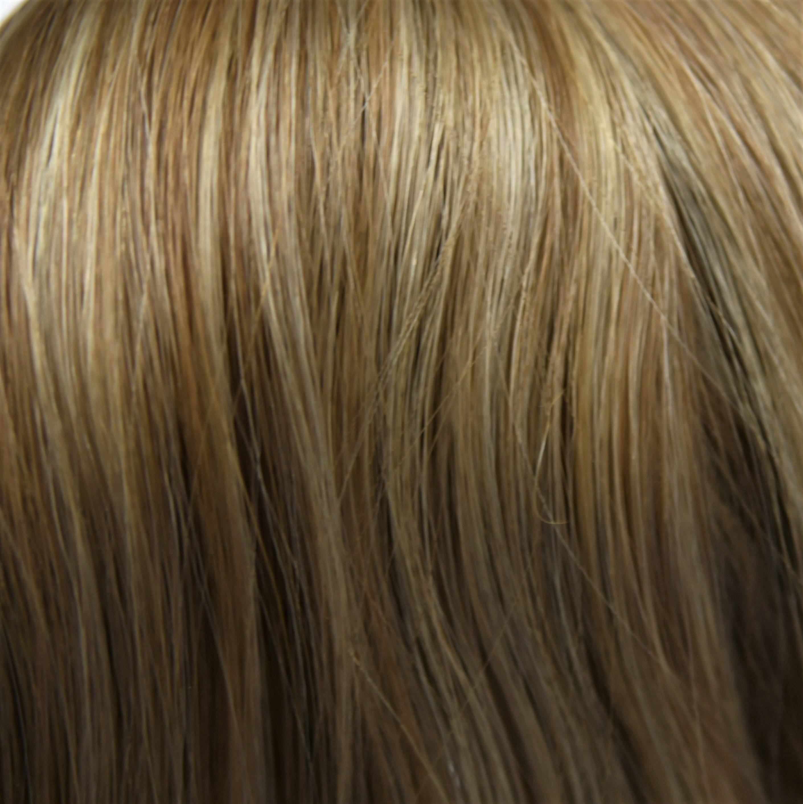 blend of platinum white hair extensions color sample in hair color chart