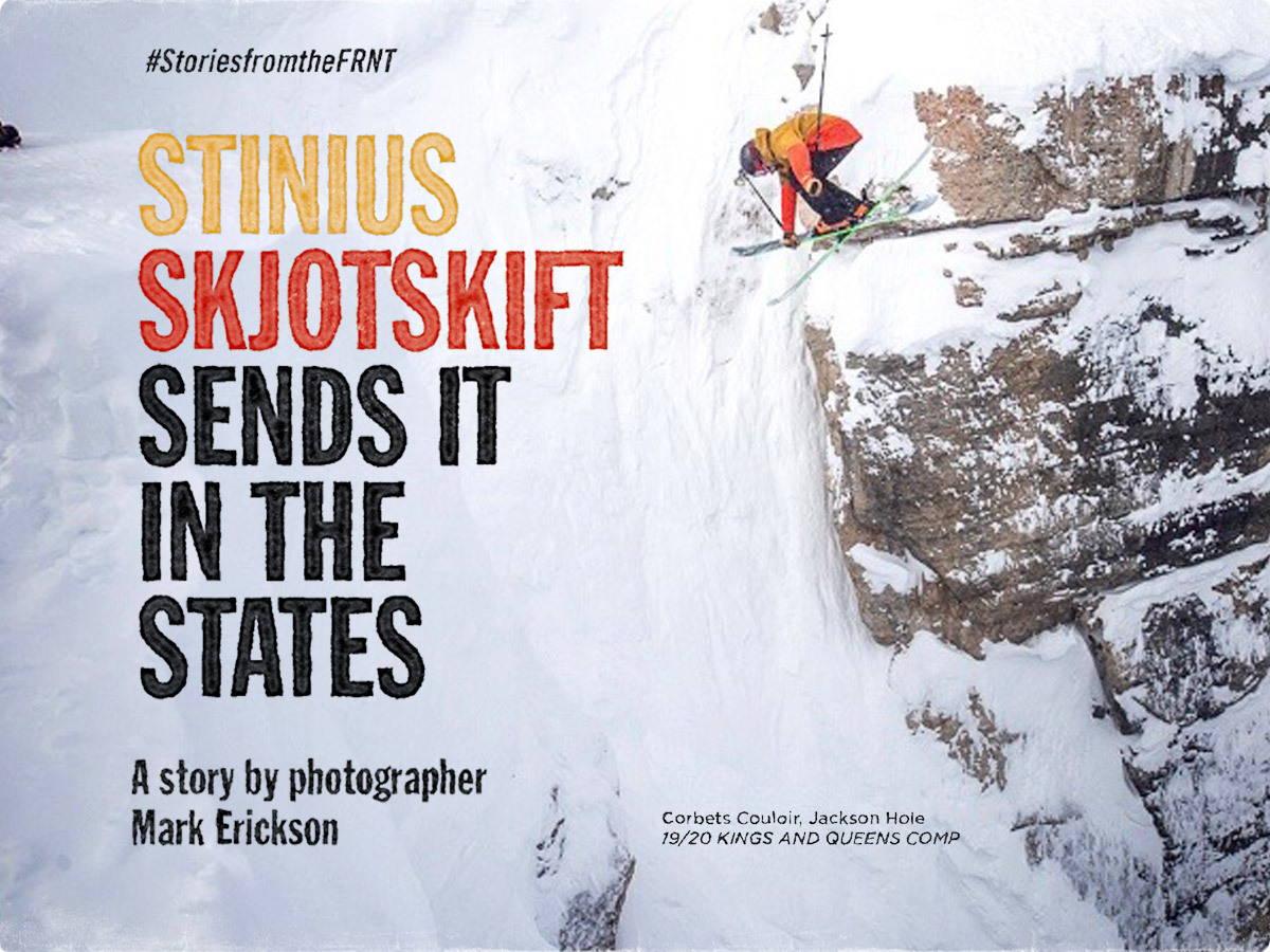 STINIUS SKJOTSKIFT SENDS CORBET'S COULOIR