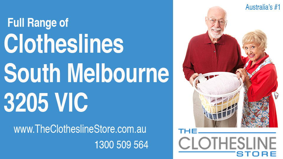 New Clotheslines in South Melbourne Victoria 3205