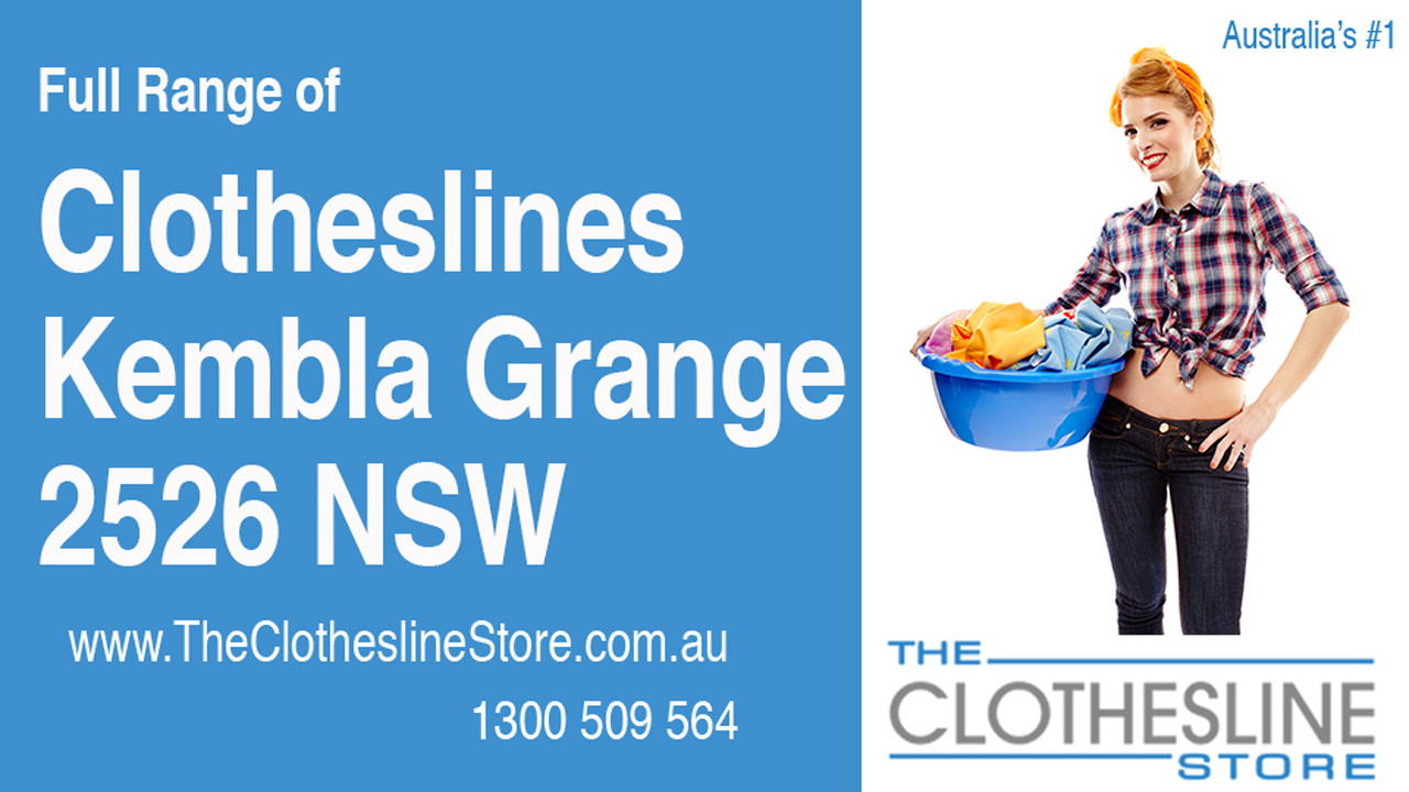 New Clotheslines in Kembla Grange 2526 NSW