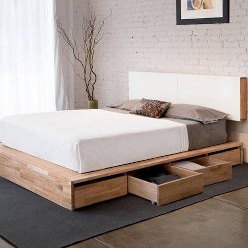 Mash Studios LAX Platform Storage Bed