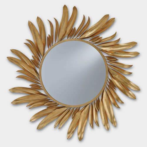 Currey & Company Folium Mirror