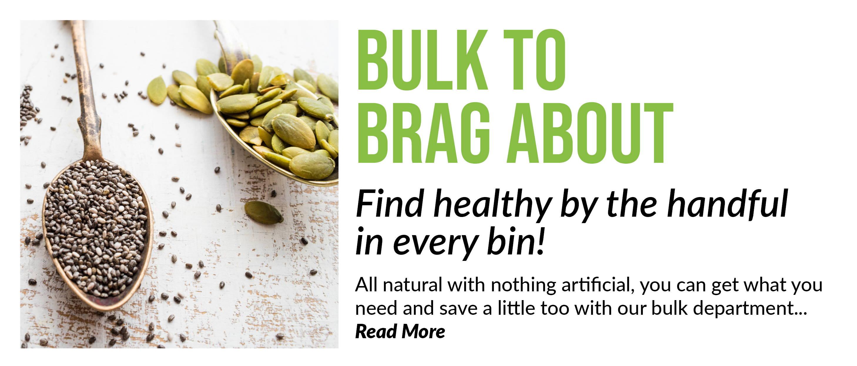 Organic Bulk food