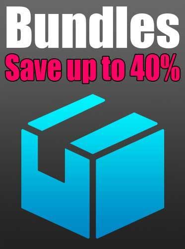 Bundle Deals - Get Massive Savings on the Best Tutorials