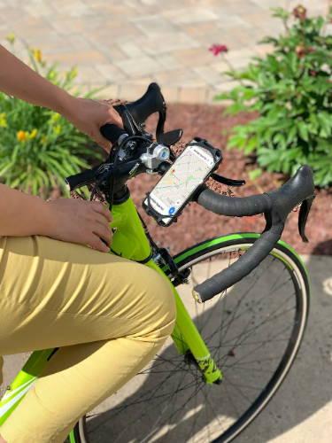 Silicone Bike Phone Holder Mount 3