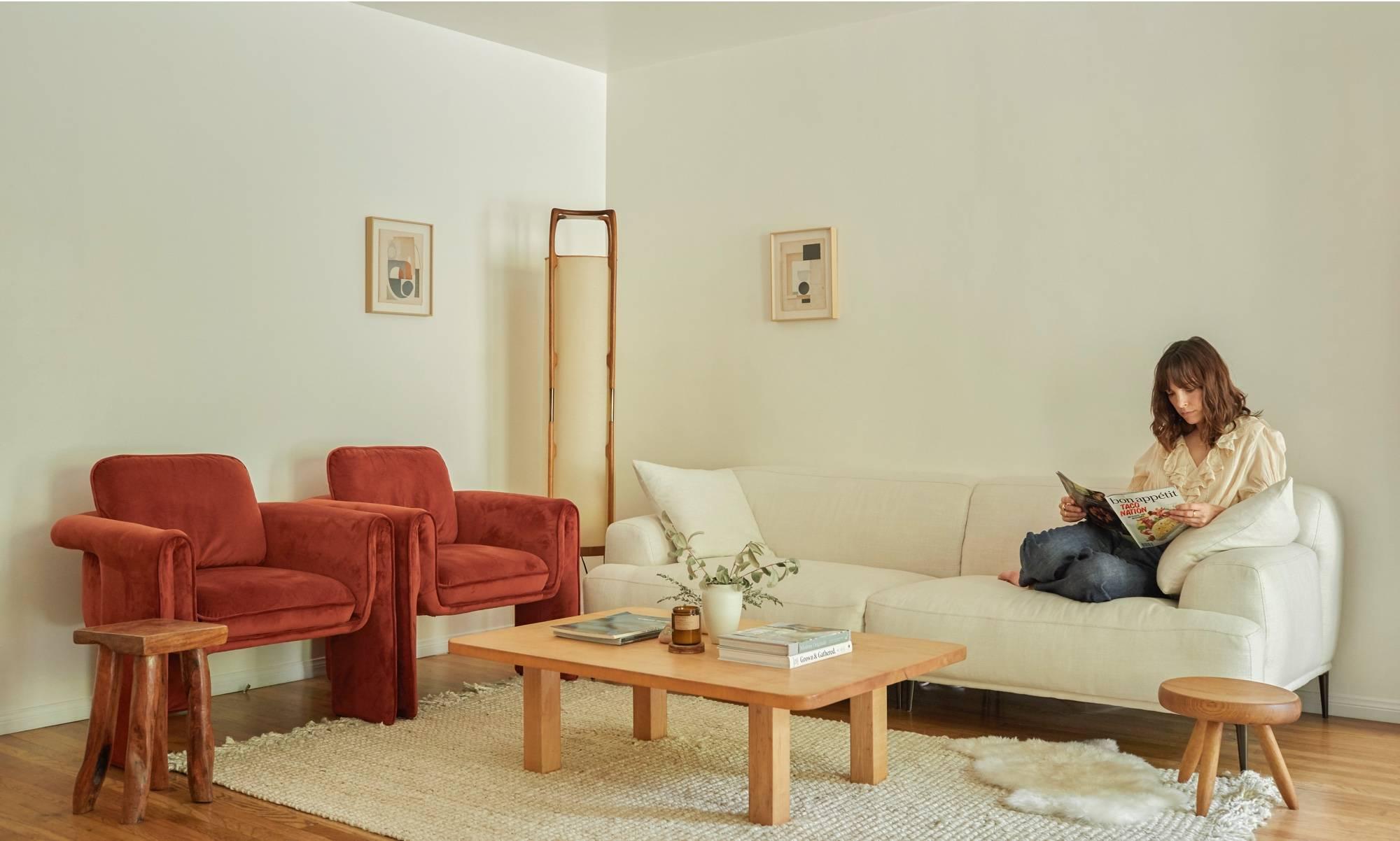 Jodi balfour at home.