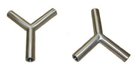 Stainless Steel Sanitary Custom Fabrication Y's