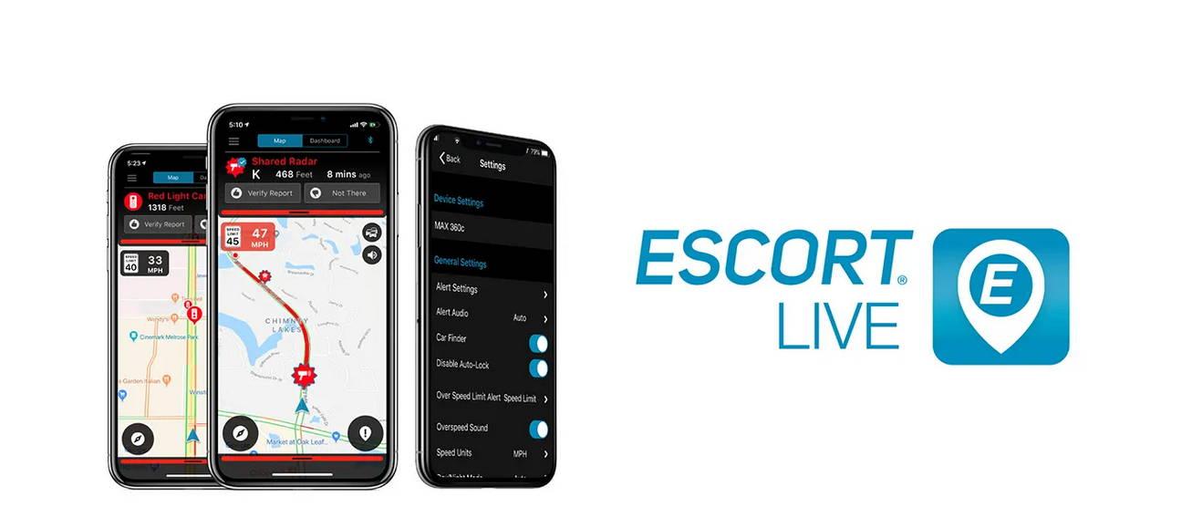 Radar Detector App >> Escort Live