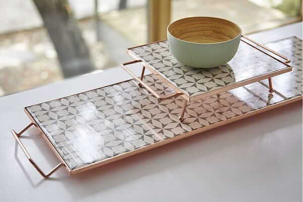 Tabletop decor perfect for your modern dining room.