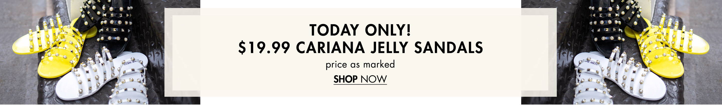 $19.99 Cariana Jelly Sandals