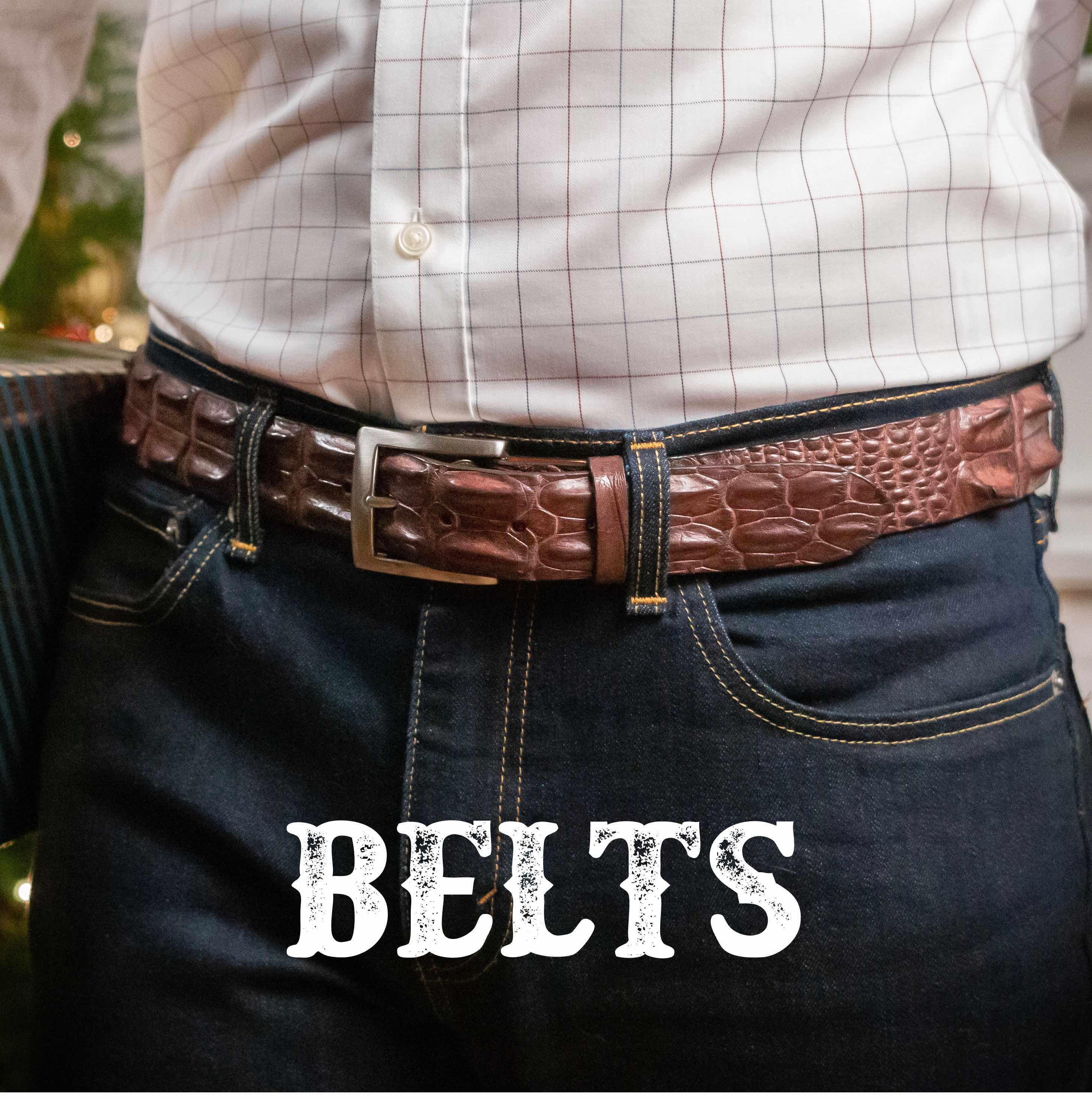 Best Alligator Belts for men