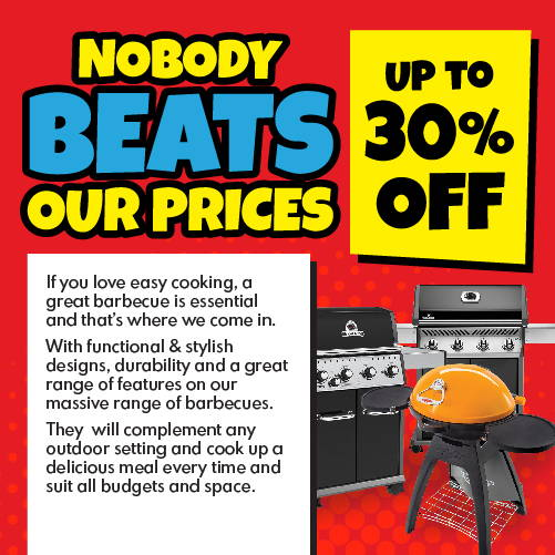 If you love easy cooking a great barbecue is essential and that's where we come in. With functional & stylish designs, durability and a great range of  features on our massive range of barbecues.  They  will complement any outdoor setting and cook up a delicious meal every time and suit all budgets and space.