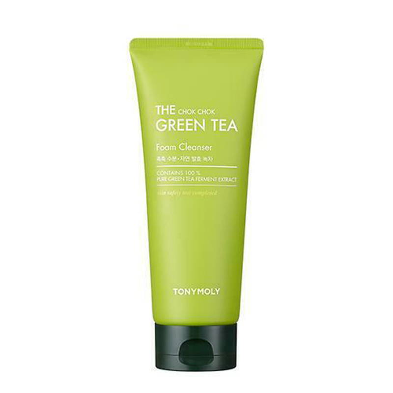 Tony Moly The Chok Chok Green Tea Foam Cleanser 50ml