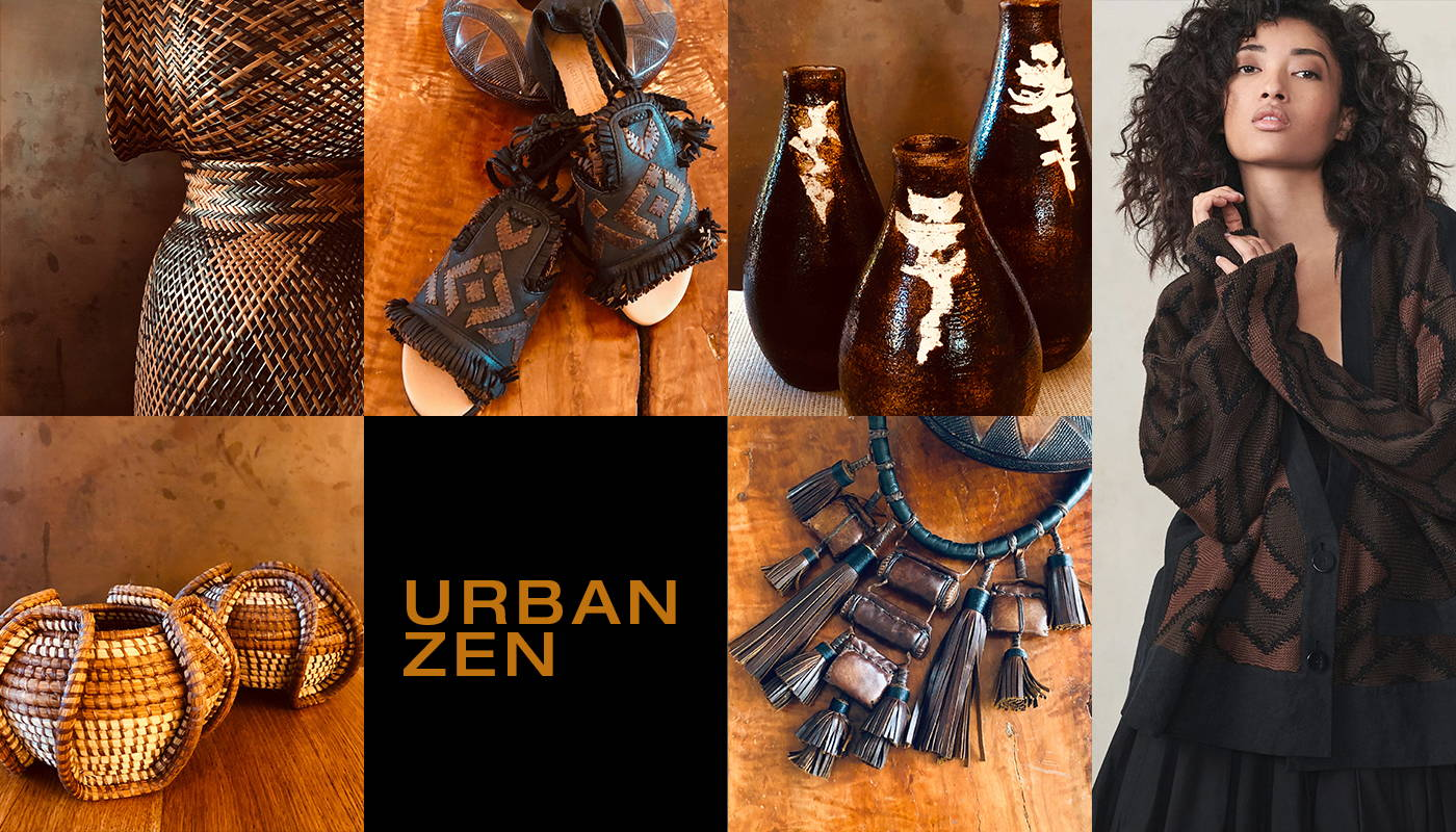 Urban Zen Brown Collection
