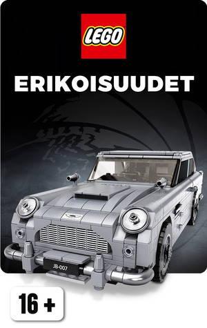 LEGO erikoisuus James Bond 007 auto